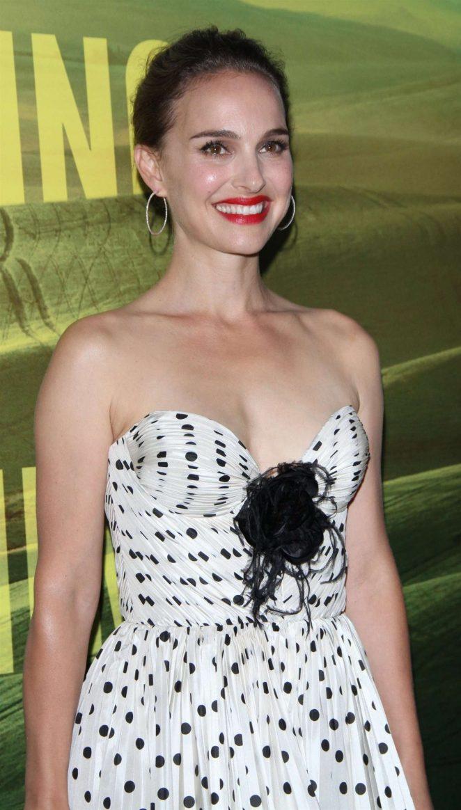 Natalie Portman - Eating Animals - New York Premiere