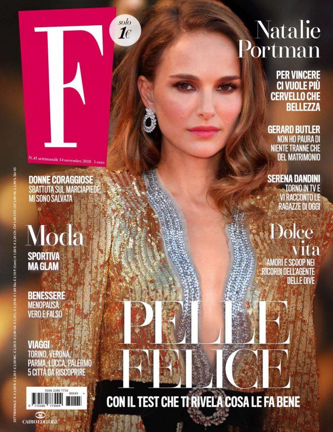 Natalie Portman - F Magazine (November 2018)