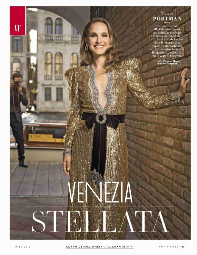 Natalie Portman for Vanity Fair Italy Magazine (September 2018)