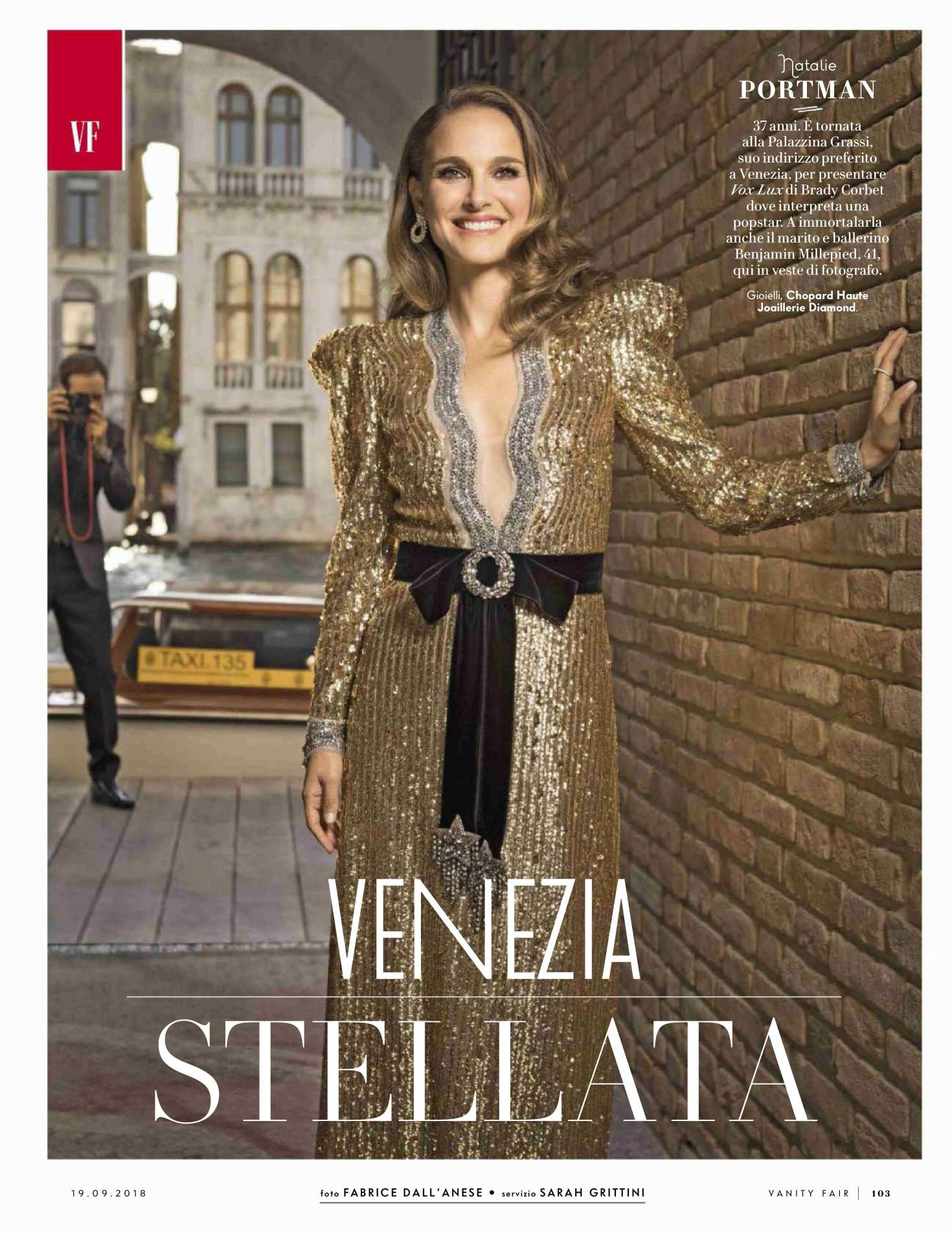 Natalie Portman for Vanity Fair Italy Magazine (September 2018)