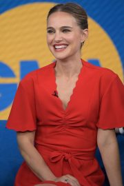 Natalie Portman - 'Good Morning America' in NYC