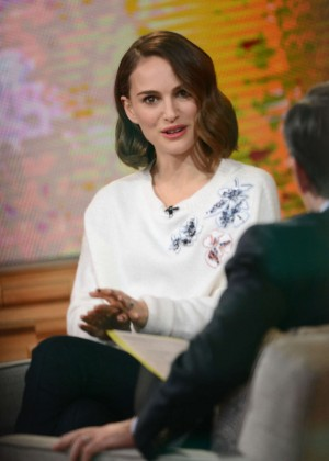 Natalie Portman - Good Morning America in NYC