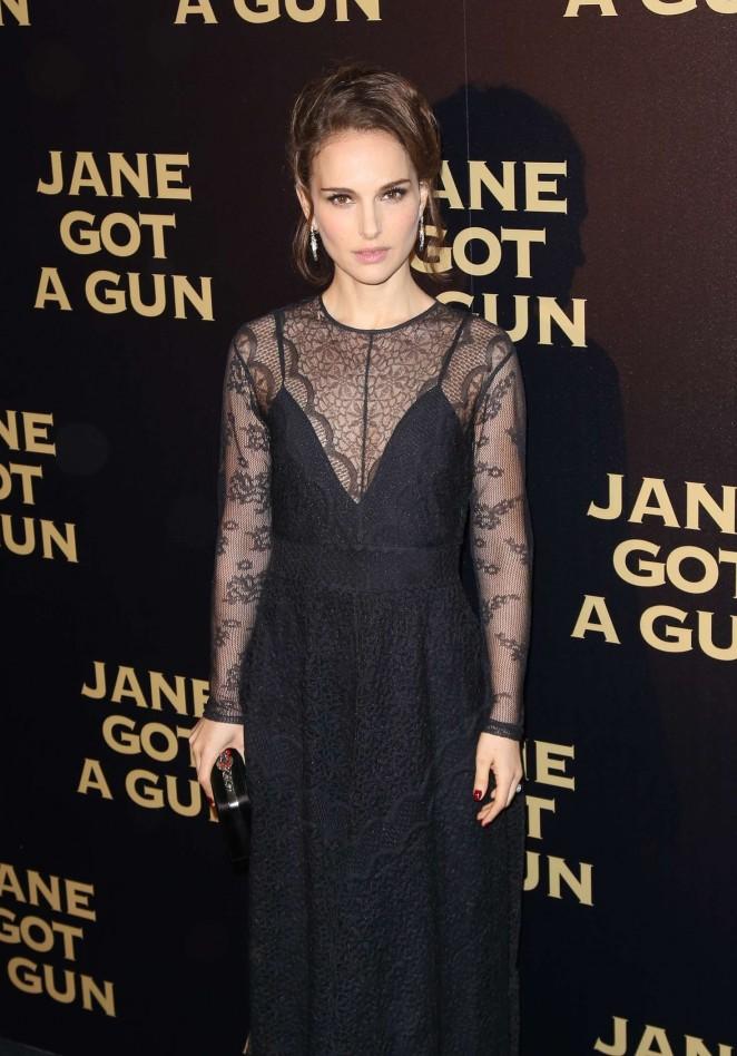 Natalie Portman - 'Jane got a Gun' Premiere in Paris