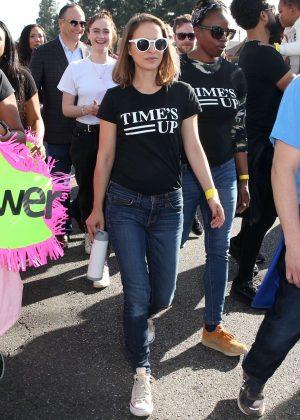 Natalie Portman - Kingdom Day Parade in Los Angeles