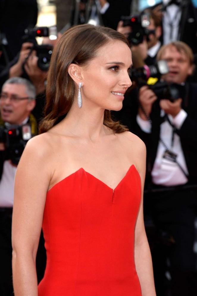Natalie Portman - La Tete Haute Premiere at 2015 Cannes Film Festival