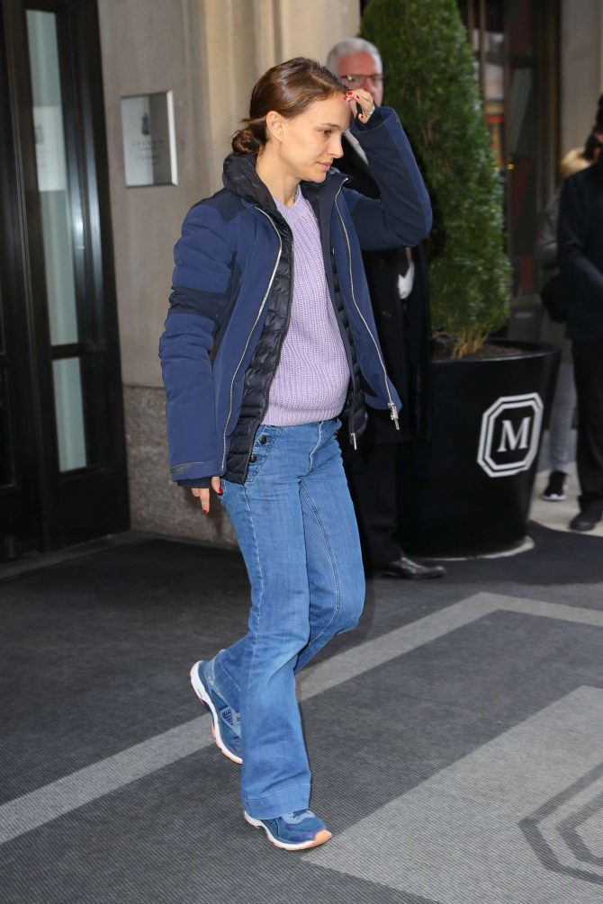 Natalie Portman – Leaving her Hotel in New York