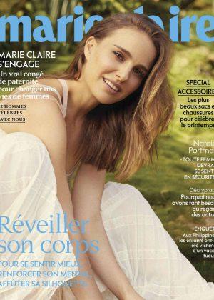 Natalie Portman - Marie Claire Magazine (France - April 2019 issue)
