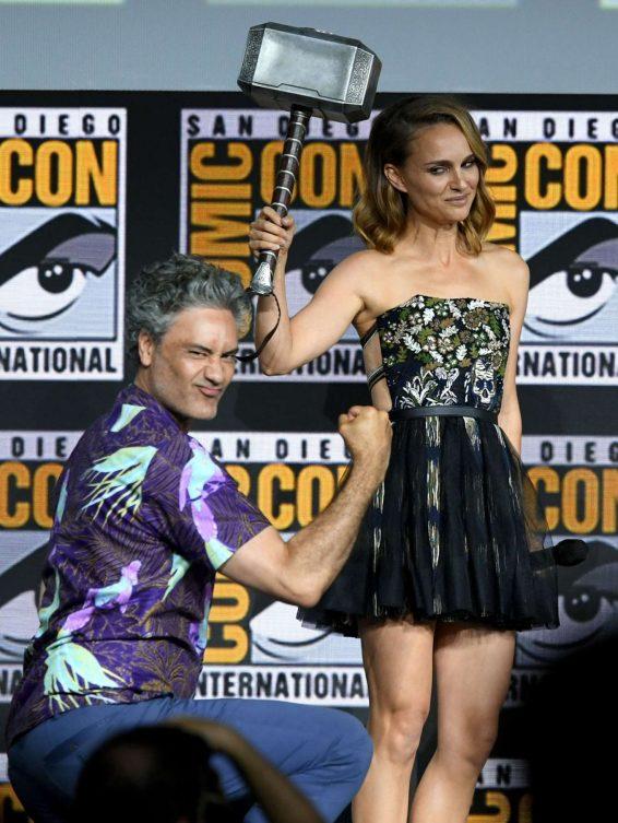 Natalie Portman 2019 : Natalie Portman – Marvel Panel at Comic Con San Diego 2019-04