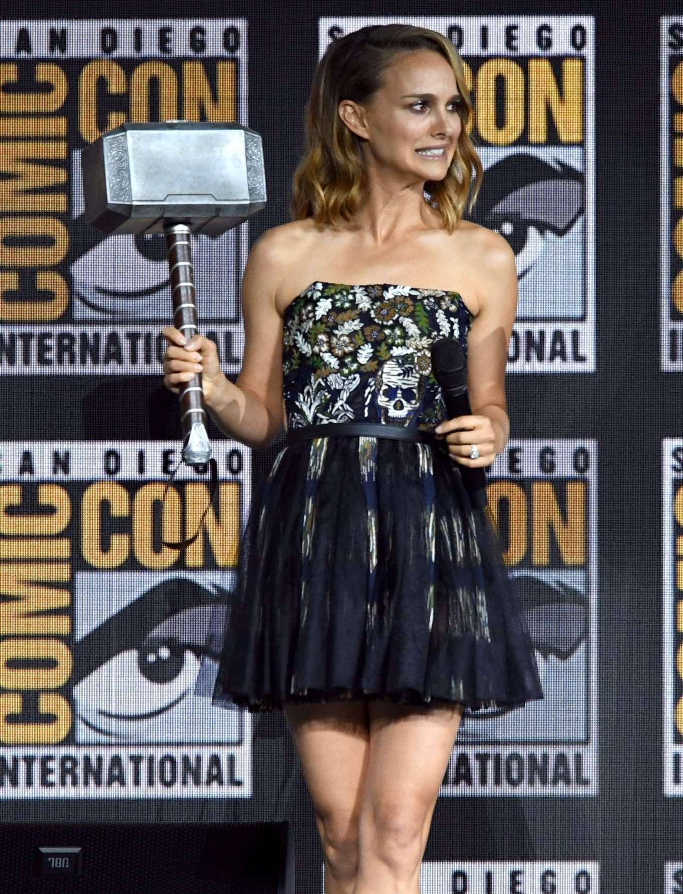 Natalie Portman 2019 : Natalie Portman – Marvel Panel at Comic Con San Diego 2019-05