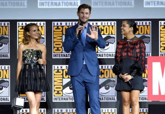 Natalie Portman 2019 : Natalie Portman – Marvel Panel at Comic Con San Diego 2019-07