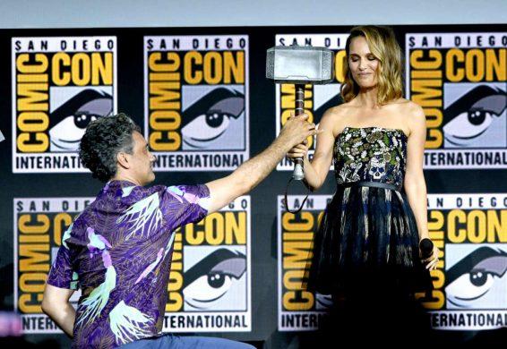 Natalie Portman 2019 : Natalie Portman – Marvel Panel at Comic Con San Diego 2019-09