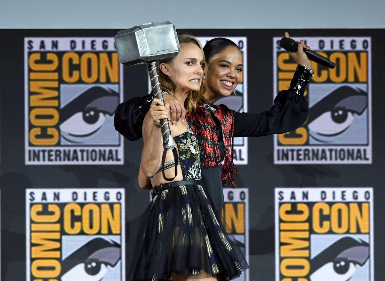 Natalie Portman 2019 : Natalie Portman – Marvel Panel at Comic Con San Diego 2019-10
