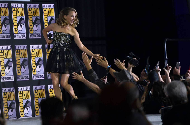 Natalie Portman 2019 : Natalie Portman – Marvel Panel at Comic Con San Diego 2019-12