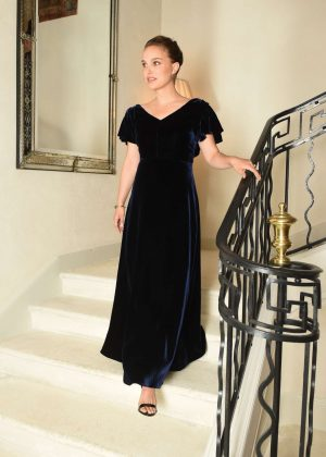 Natalie Portman - Miss Dior Perfume Launch in Montauroux