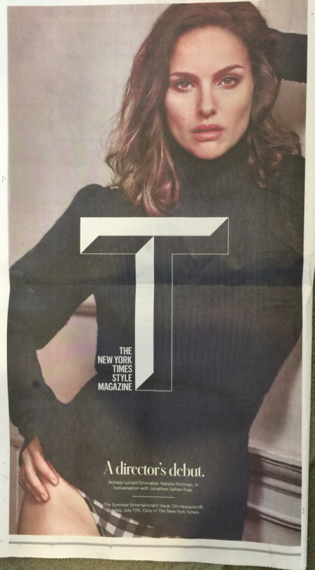 Natalie Portman: New York Times Style 2016 -02