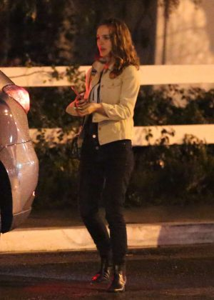Natalie Portman - Night out in Los Angeles