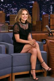 Natalie Portman - On 'The Tonight Show Starring Jimmy Fallon' in NYC