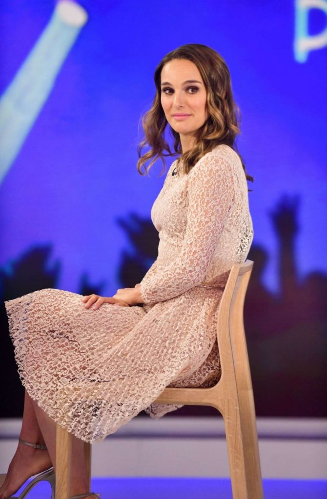 Natalie Portman - On 'Today Show' in New York