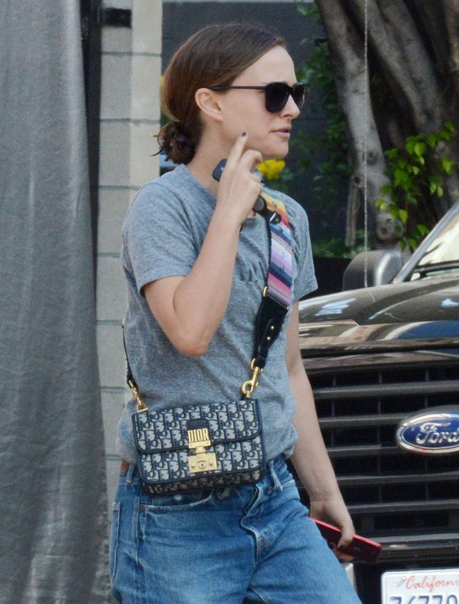 Natalie Portman - Out and about in LA