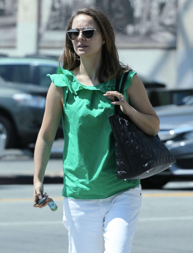 Natalie Portman out in Los Angeles