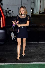 Natalie Portman - Out to dinner in New York