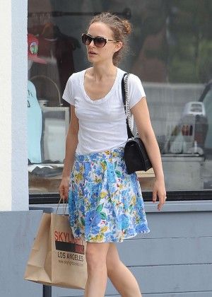 Natalie Portman - Out with her family in LA