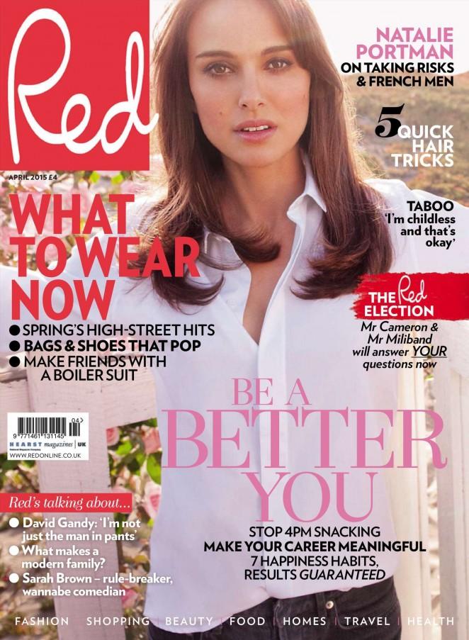 Natalie Portman - Red UK Magazine (April 2015)