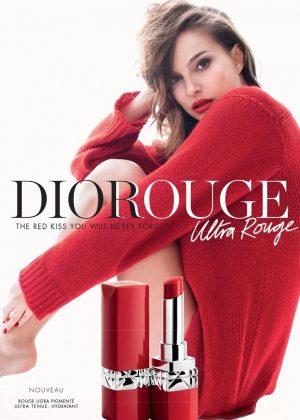 Natalie Portman - Rouge Dior Ultra Rouge 2018