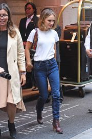 Natalie Portman - seen out and about in Manhattan