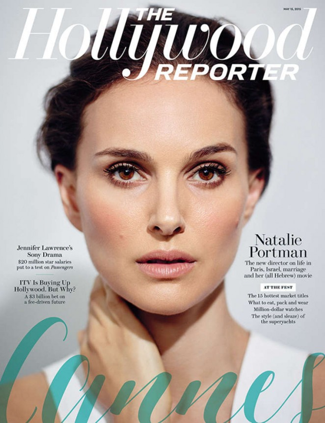 Natalie Portman – The Hollywood Reporter Cover (May 2015)