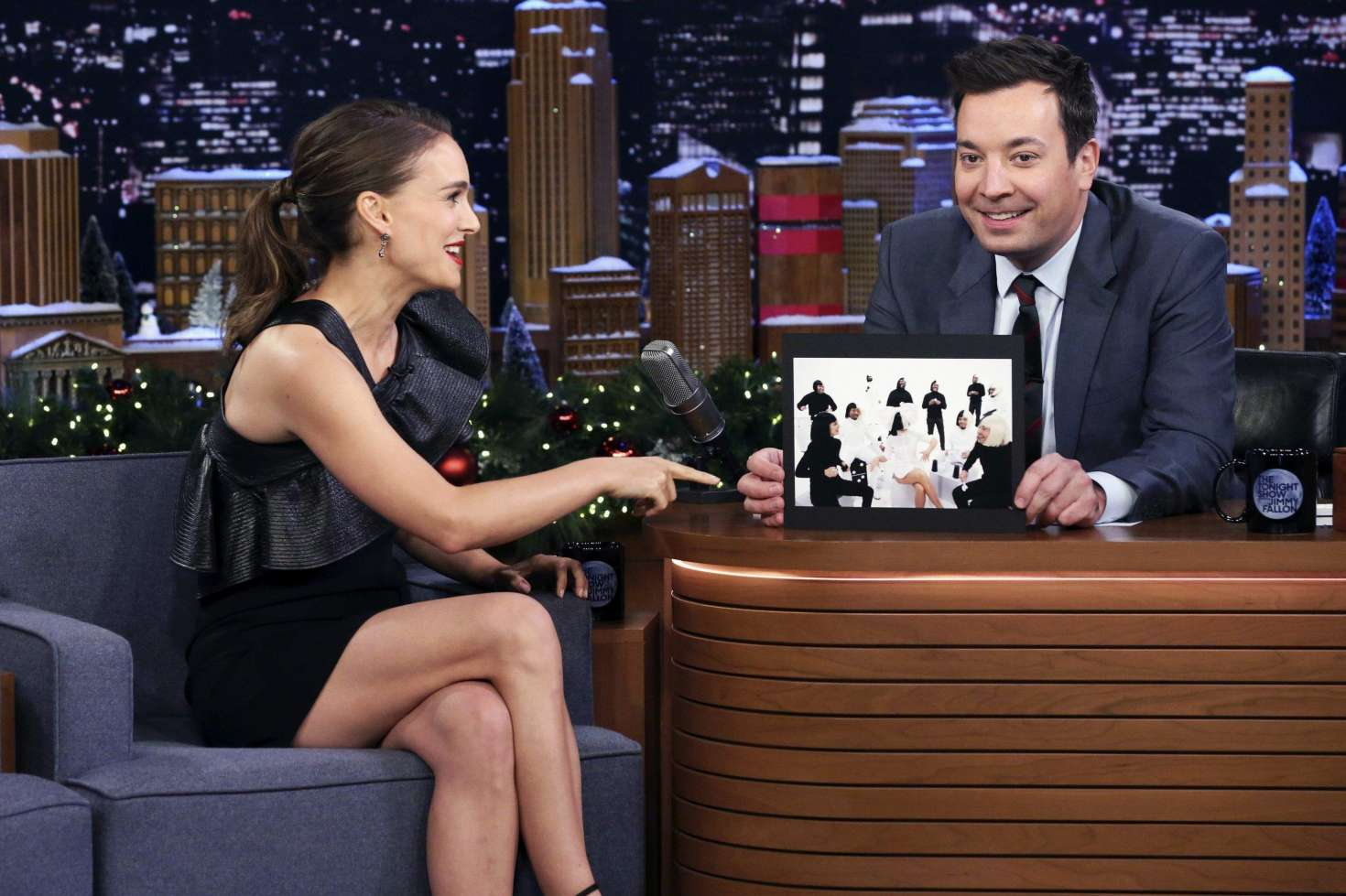 Natalie Portman 2018 : Natalie Portman: The Tonight Show Starring Jimmy Fallon -01
