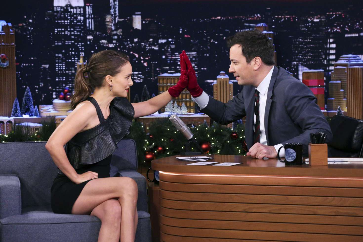 Natalie Portman 2018 : Natalie Portman: The Tonight Show Starring Jimmy Fallon -02