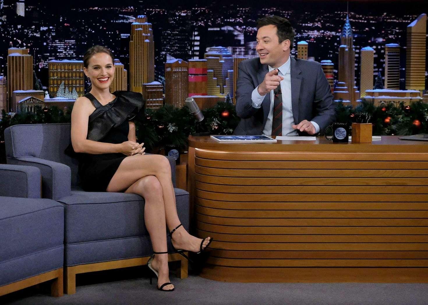 Natalie Portman 2018 : Natalie Portman: The Tonight Show Starring Jimmy Fallon -08