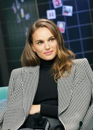 Natalie Portman - Visits AOL Build Series in New York City