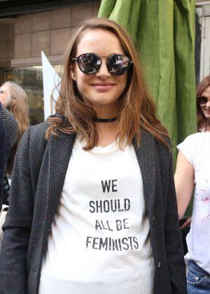 Natalie Portman - Women's March on Los Angeles
