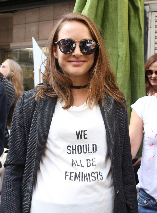 Natalie Portman - Women's March on Los Angeles