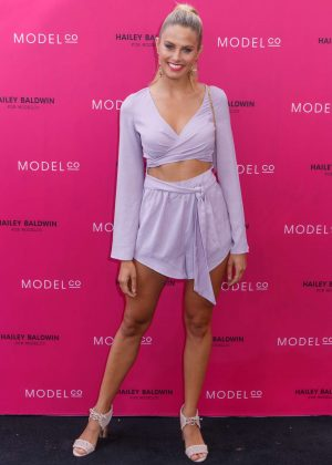 Natalie Roser - VIP launch of the Hailey Baldwin for ModelCo Cosmetics Range in Sydney