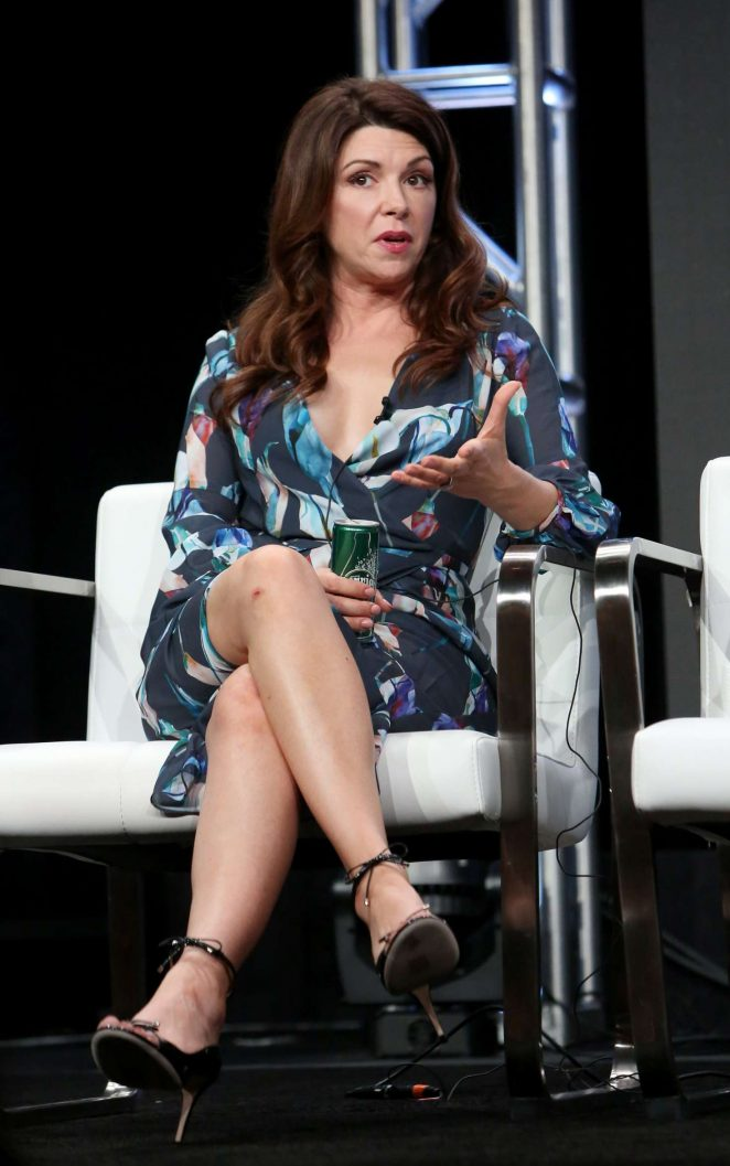 Natalie Sharp and Amy Pietz - 'Hit the Road' TV Show Panel at 2017 TCA Summer Press Tour in LA
