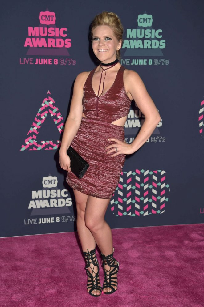 Natalie Stovall - CMT Music Awards 2016 in Nashville