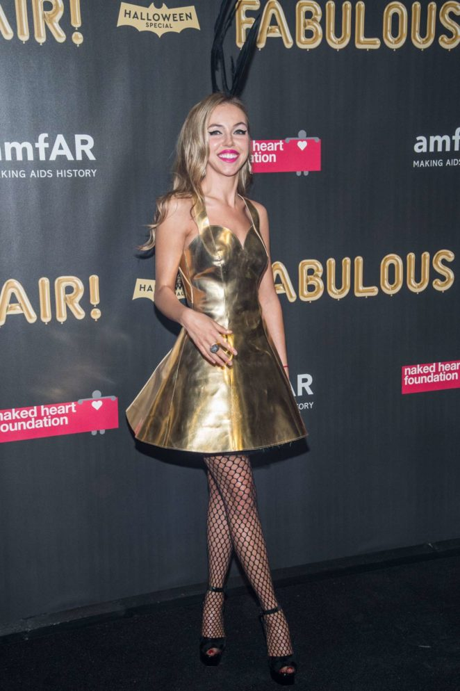 Natalie Yura - 2017 amfAR Fabulous Fund Fair in NYC