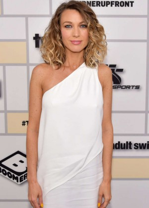 Natalie Zea - Turner Upfront 2015 in NYC