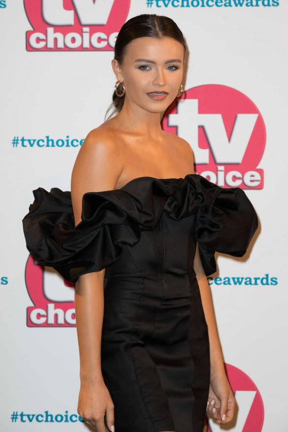 Natalya Wright - 2019 TV Choice Awards in London