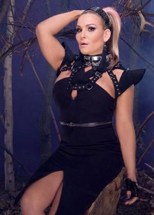 Natalya - WWE Divas Deadman Photoshoot 2015