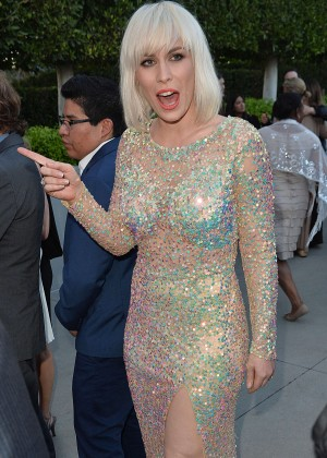 Natasha Bedingfield Leaves a Party in Beverly Hills