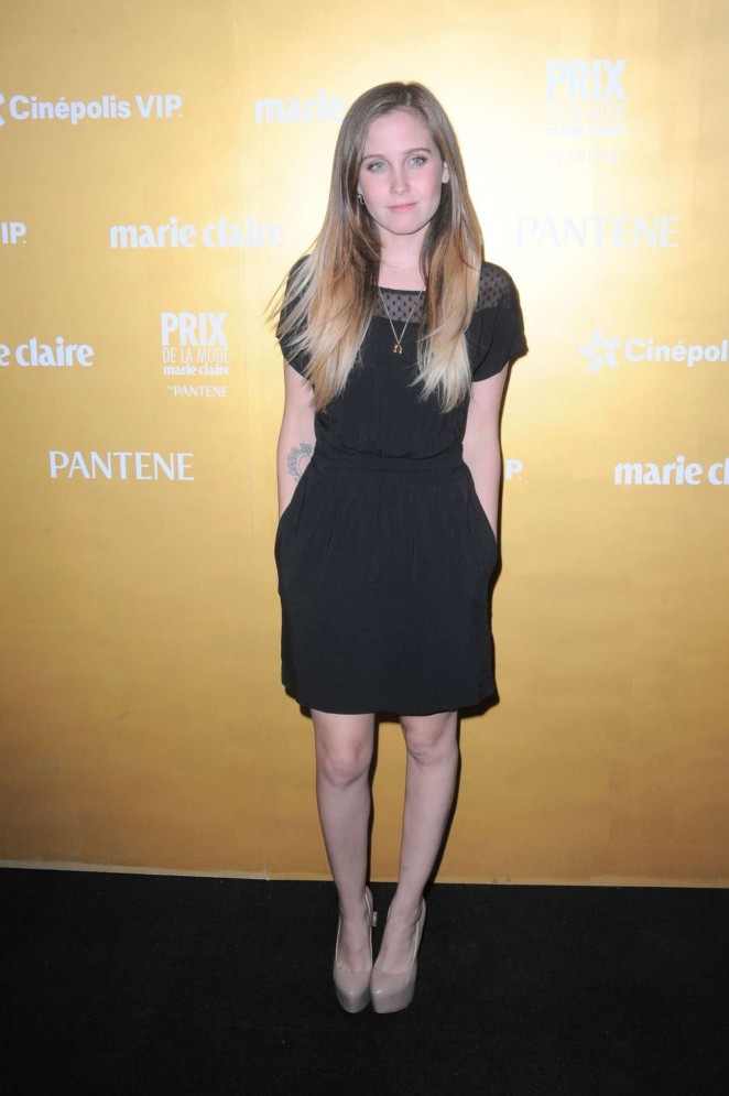 Natasha Dupeyron - Marie Claire Prix de la Mode Awards 2015 in Mexico City