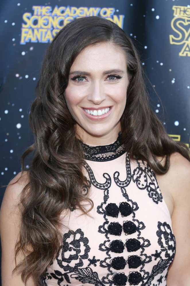 Natasha Halevi - 43rd Annual Saturn Awards in Burbank