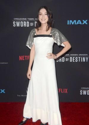 Natasha Liu Bordizzo - 'Crouching Tiger, Hidden Dragon: Sword of Destiny' Premiere in Los Angeles