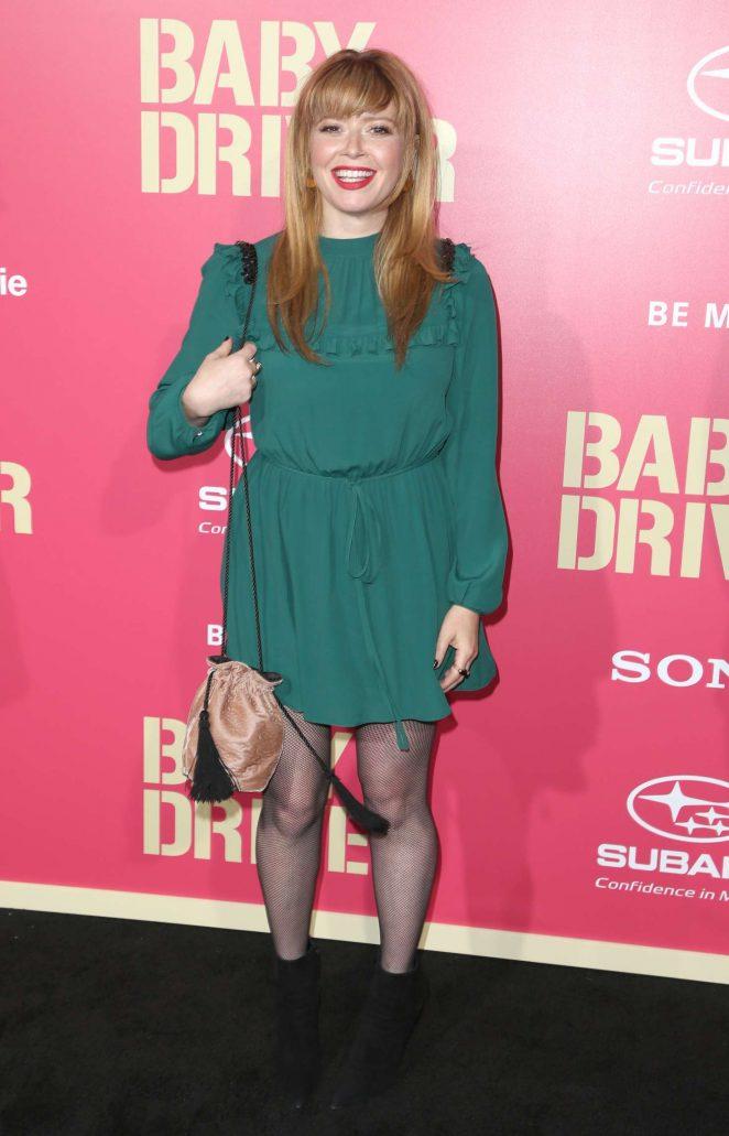 Natasha Lyonne - 'Baby Driver' Premiere in Los Angeles