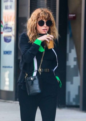 Natasha Lyonne Out and about in New York