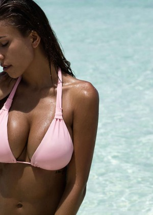 Natasha Oakley and Devin Brugman: Monday Swimwear 2015 -01